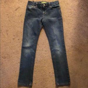 OLD NAVY super skinny blue jeans, size 8